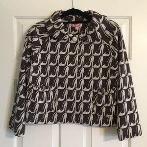 Lily Pulitzer jacket/cape.